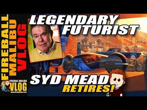 Film, Anime Designer Syd Mead Announces Retirement