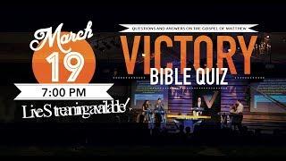 SMBS Bible Quiz 2019 - Live