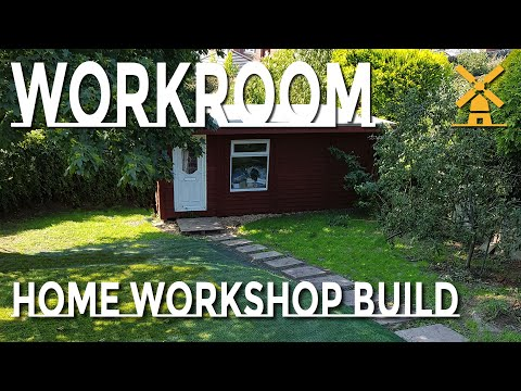 Home & Garden Makeover - Building A Sewing Workroom