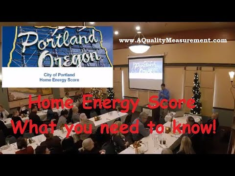 Portland - Home Energy Score - What You Need To Know!