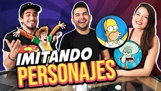 VOCES DE PERSONAJES con actor de DOBLAJE / Mylo Brizuela