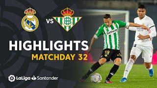Highlights Real Madrid vs Real Betis (0-0)