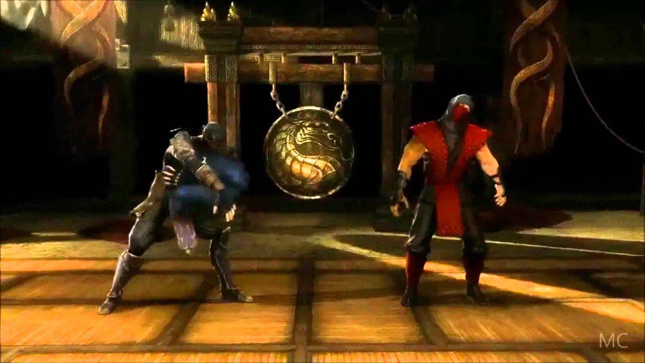 Mortal Kombat 9 (2011): Rain Gameplay Trailer [HD] (PS3/XBOX 360) - YouTube