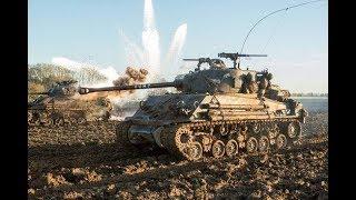 谢尔曼坦克浴血奋战虎式坦克