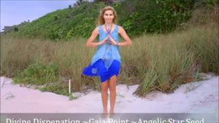 Gaia Point Activation Angelic Human Star Seed Upgrade~528 HZ Miracle & Love