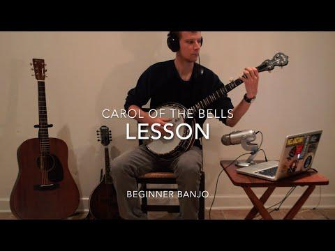 "Free ""Carol of the Bells"" Beginner Banjo Lesson"