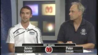 """Are You In?"" / NAIA interview with NAIA All-American Kevin Souter..."