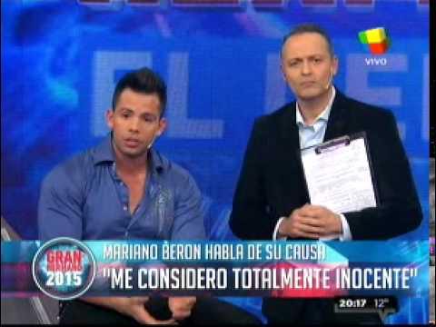 """""""Gran Hermano 2015"""": Mariano explicó su causa judicial"""