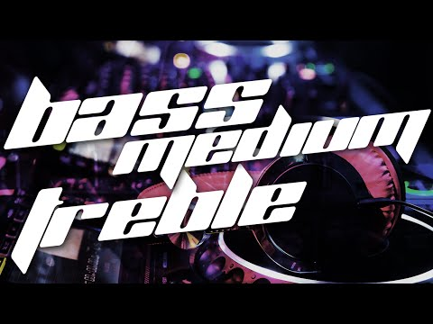 How does Bass, Medium, and Treble Sound?