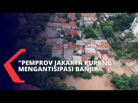 Jakarta Banjir, Ketua Forum Warga Jakarta : Pemprov Masih Belum Bisa Antisipasi Banjir