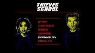 Thieves School: Exam 2018 128k (FULL GAME: ACTION + STEALTH) Walkthrough + Review, ZX Spectrum