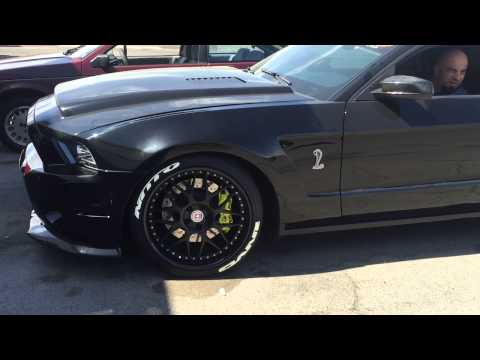 SHELBY GT500 comp cams with major lope! Built motor with 4.7L Kenne Bell