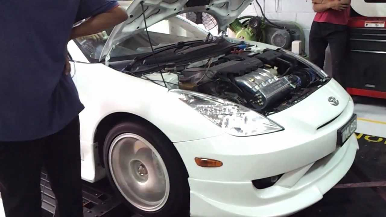 small resolution of 22zz 1 8cc na celica vvtl i 188whp 18kgnm torque with dd performance intake manifold