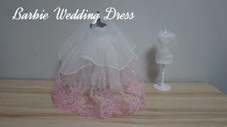 [DIY] 바비 인형 웨딩 드레스  │  Barbie …
