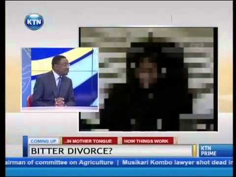 Bitter divorce : James Orengo one on one with Yvonne Okwara