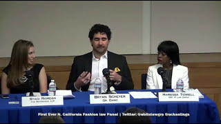 Fashion Law: First Ever Northern California Fashion Law Panel by @ebitulawgrp @uchastings Pt.1