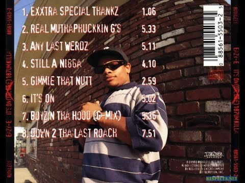 Eazy E - It's On (Dr.Dre) 187um Killa (Full Album)