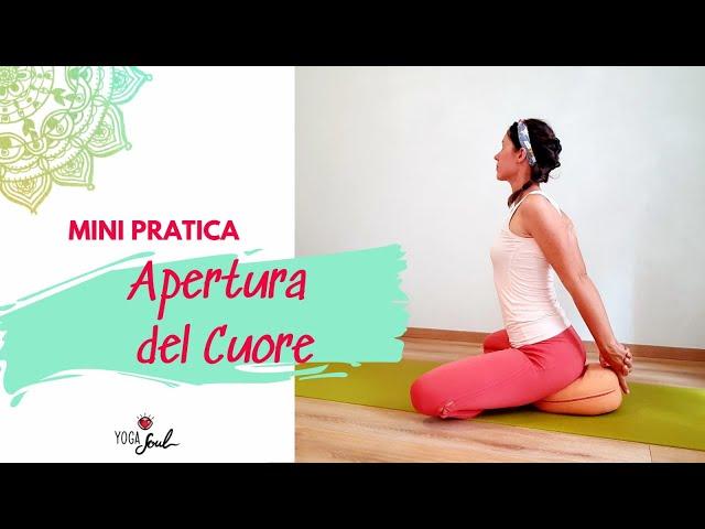 Yoga - Sciogliere le spalle e aprire il Cuore