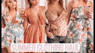 SUMMER CLOTHING HAUL | Vici | Goodnight Macaroon | Free People