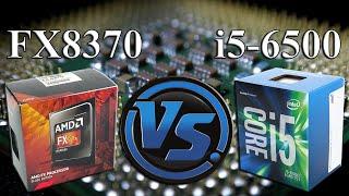 FX-8370 vs i5-6500 | GTX 970 OC | 1440p | in 10 Games