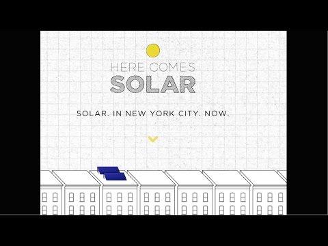 Here Comes Solar