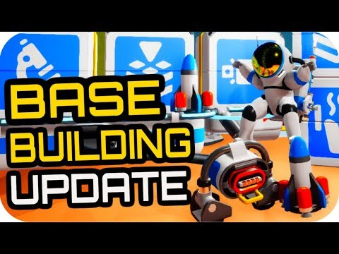 Astroneer BASE BUILDING UPDATE: 🚀EVERYTHING NEW🚀 Basebuilding Update Astroneer Alpha v0.6.0.0