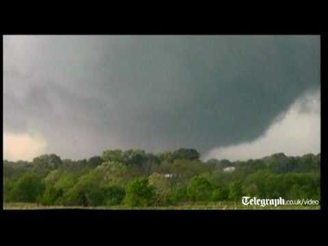Caught on film: The tornadoes that devastated US states as death toll rises
