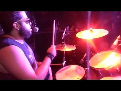Locomotive Guns Tributo - Patience - Drum Cam Live Jack Rock Bar 23/08/2015