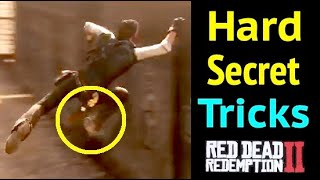 Gambar cover Hard Secret Tricks in Red Dead Redemption 2 (RDR2)