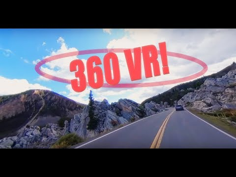 Through the Hoodoos on Yellowstone's Grand Loop — 360 VR!