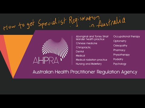 How To Get Specialist Registration As A Doctor In Australia?