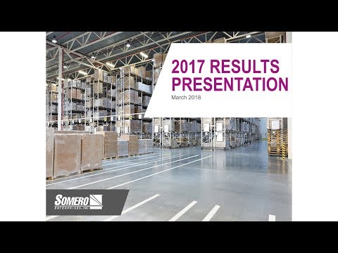 Somero (SOM) Results presentation March 2018