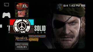 Sony PSP Lista de Juegos 2018 CFW 64gb