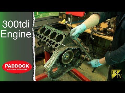 Replacing The P Gasket Pet 100790 300tdi Engine Land