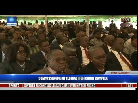 Commissioning Of Federal High Court Complex Pt. 6 -- Gov. Wike