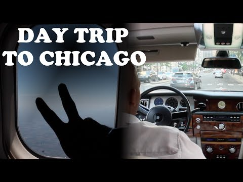 CHICAGO FOR THE DAY!