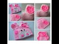 Girl Pink Giraffe Baby Set - Pink Giraffe Hat - Diaper Cover