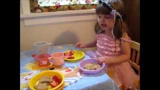 Little Soul has a Tea Party!