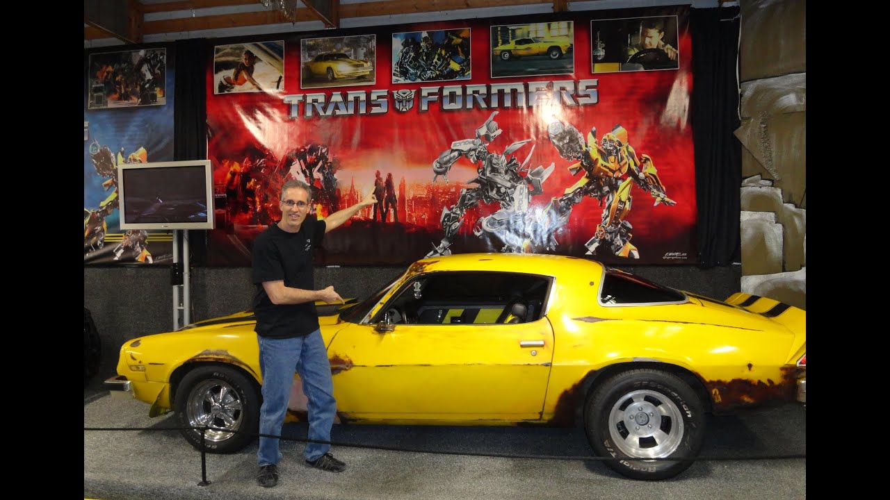 1977 Chevy Camaro Autobot Bumblebee from the movie Transformers on