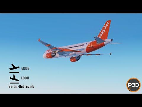 [Prepar3D v5.1] Amazing A320 holiday flight to Dubrovnik! EDDB-LDDU |