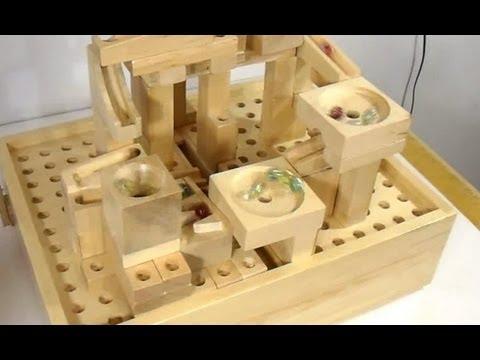 Marble machine construction set