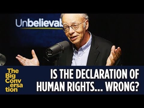 Peter Singer: I disagree with The Universal Declaration of Human Rights