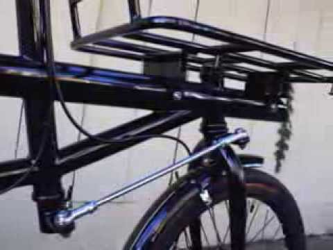 Betere Soma Pick Up Artist Cargo Bike - short vid - YouTube YZ-17