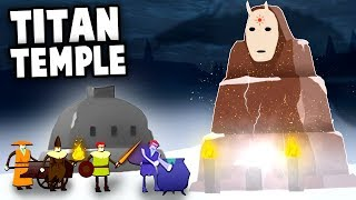 The GIANT TITAN Temple and Dungeon Quests!  (The Bonfire: Forsaken Lands)
