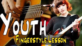 """Learn Easy """"Youth"""" by Daughter - Guitar TABS and Lesson"""