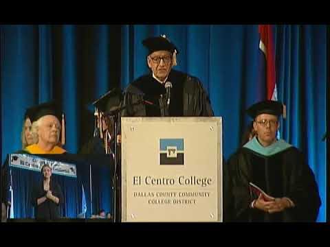 El Centro College Commencement 2016