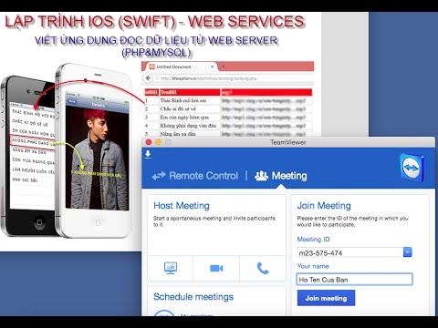 Lớp học lập trình iOS Chủ nhật 17-05-2015: Web Service - VIết ứng dụng iOS kết nối PHP & MySQL