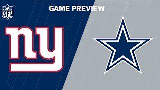 Giants vs. Cowboys (Week 1 Preview) | NFL