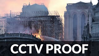 Download Video Notre Dame Fire CCTV PROOF of DEW, Media Reports Before it Happened MP3 3GP MP4