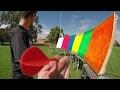 Impossible Darts Bullseye! (6 Pallet Skip)